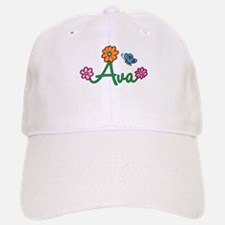 Ava Flowers Baseball Baseball Cap