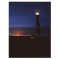 """""""Bodie Island Sunset"""" 13x16_ Poster"""