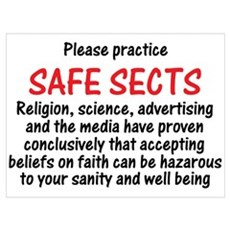 Safe Sects Framed Print