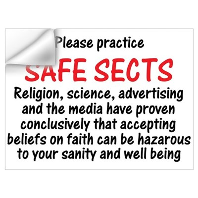 Safe Sects Wall Decal
