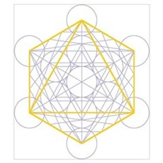 of octahedron Poster