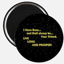 Live long and prosper Magnet
