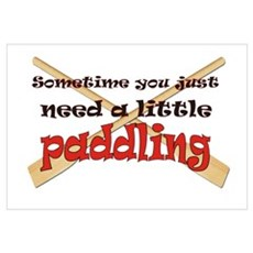 A little paddling Poster