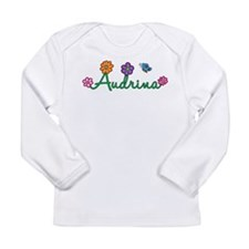 Audrina Flowers Long Sleeve Infant T-Shirt