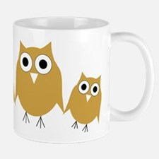 Gold Owls Mug