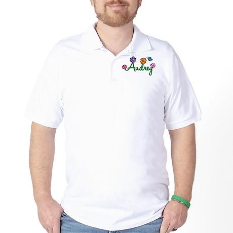 Audrey Flowers Golf Shirt