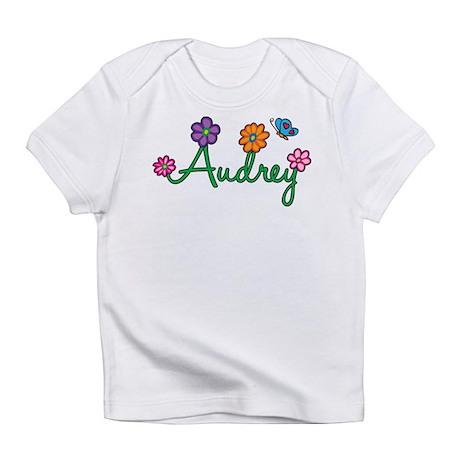 Audrey Flowers Infant T-Shirt