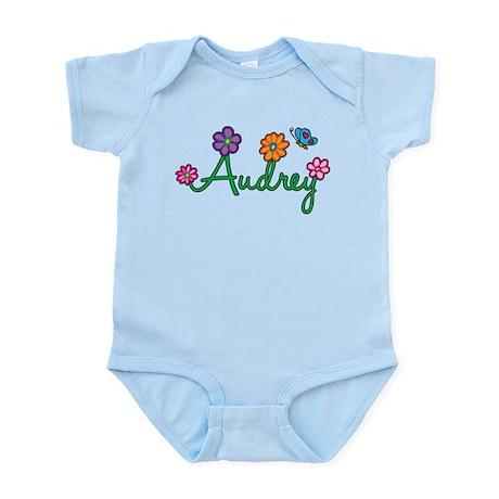 Audrey Flowers Infant Bodysuit