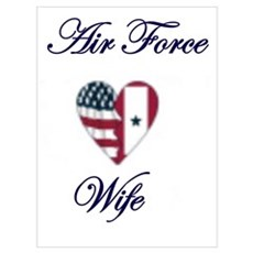 air force wife Framed Print