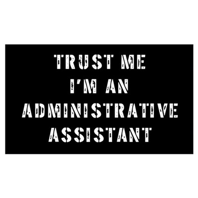 Administrative Assistant Gift Poster