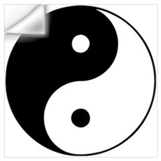 Yin Yang Taijitu Wall Decal