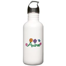 Aubree Flowers Water Bottle