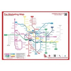 Large Marketing Map Poster