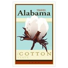 Travel Alabama Poster