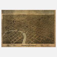 Columbus, Ohio, 1872 antique