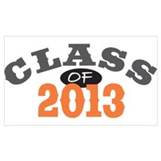 Class Of 2013 Orange Poster