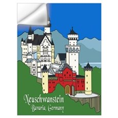 Neuschwanstein Wall Decal
