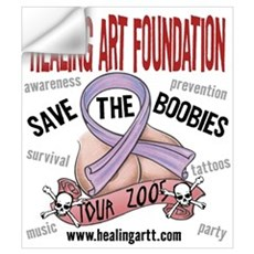 Save the Boobies Tour Wall Decal