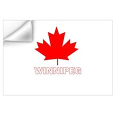 Winnipeg, Manitoba Wall Decal