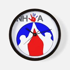 National High 5ive Association Wall Clock