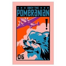 Obey the Pomeranian! Poster