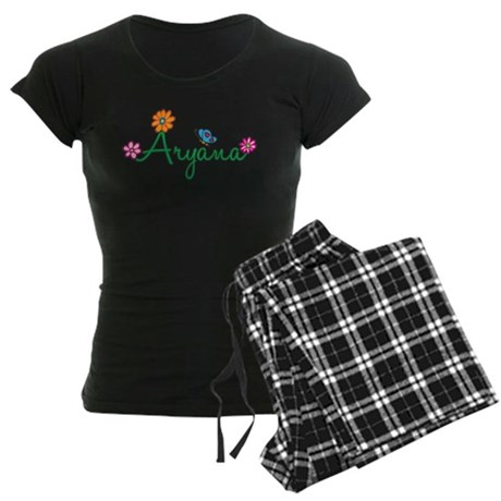 Aryana Flowers Women's Dark Pajamas