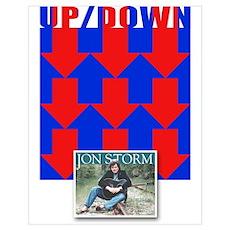 Jon Storm-Up/Down Poster
