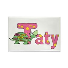 Name design for Taty / Tatyana Rectangle Magnet