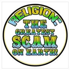 Religion / Scam Poster