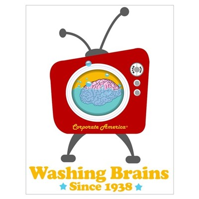 Washing Brains - Since 1938 Poster