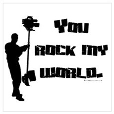 You Rock my World! Poster