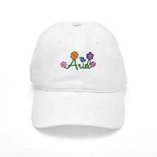 Ariel Flowers Baseball Cap