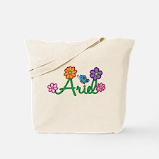 Ariel Flowers Tote Bag