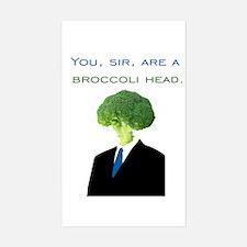 Broccoli Head Decal