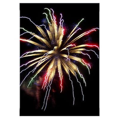 - Fireworks (Single Burst) Poster