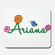 Ariana Flowers Mousepad