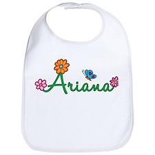 Ariana Flowers Bib
