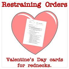 Valentine's Restraint Poster