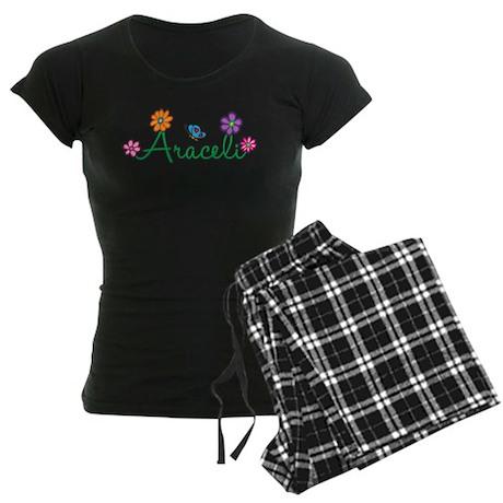 Araceli Flowers Women's Dark Pajamas