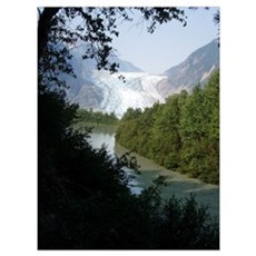 Davidson Glacier, Alaska Poster
