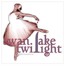Swan Lake Twilight Poster