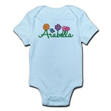 Arabella Flowers Infant Bodysuit
