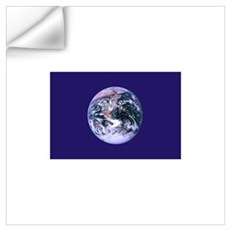 Earth Day Flag Wall Decal