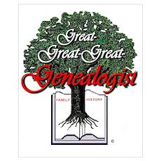 Great Genealogist Poster