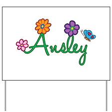 Ansley Flowers Yard Sign