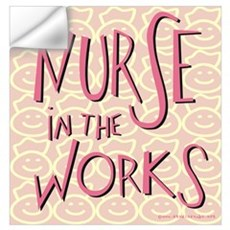 Nurse in the Works Wall Decal