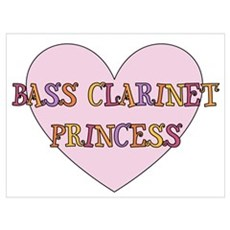 Bass Clarinet Gift Poster