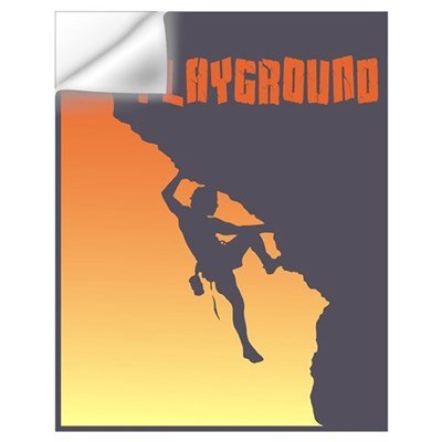 My Playground Rock Climbing Wall Decal