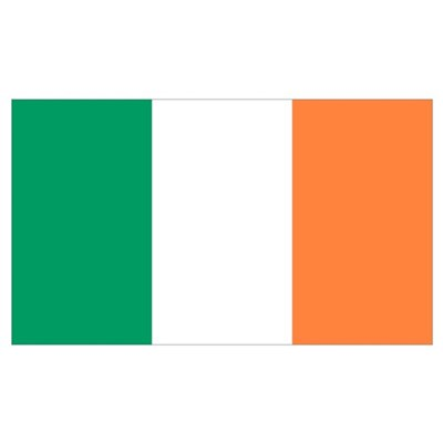 Irish Flag Canvas Art