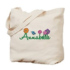 Annabelle Flowers Tote Bag
